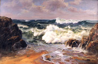 Big Sur  Seascape Oil Painting