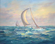 Sailboats - Catching UP